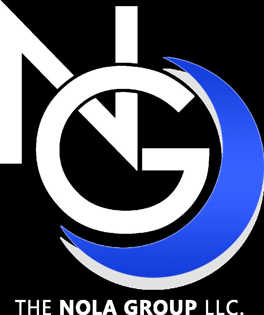 Nola Group Logo White